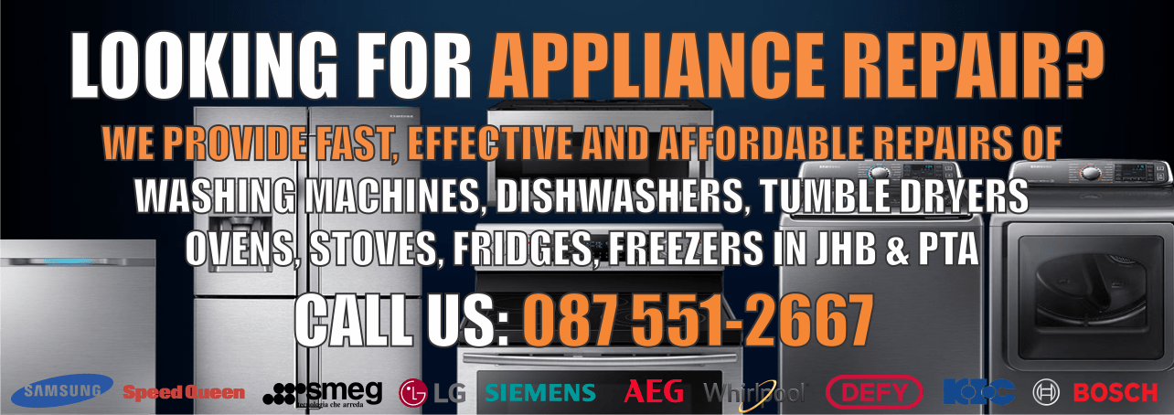 Appliance Repairs, Washing Machine Repairs, Dishwasher Repairs, Oven Repairs, Stove Repairs, Tumble Dryer Repairs, Fridge Repairs, Freezer Repair